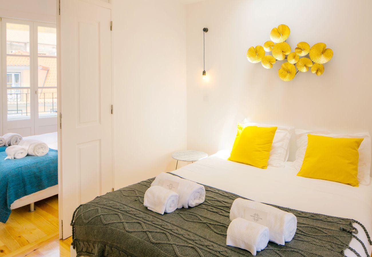 chambre double pour adulte avec communication sur deuxième chambre pour les vacances