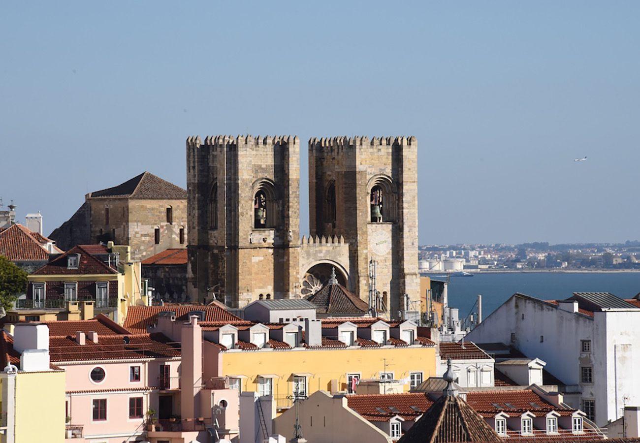 Cathédrale de Sé à coté de l'appartement de location