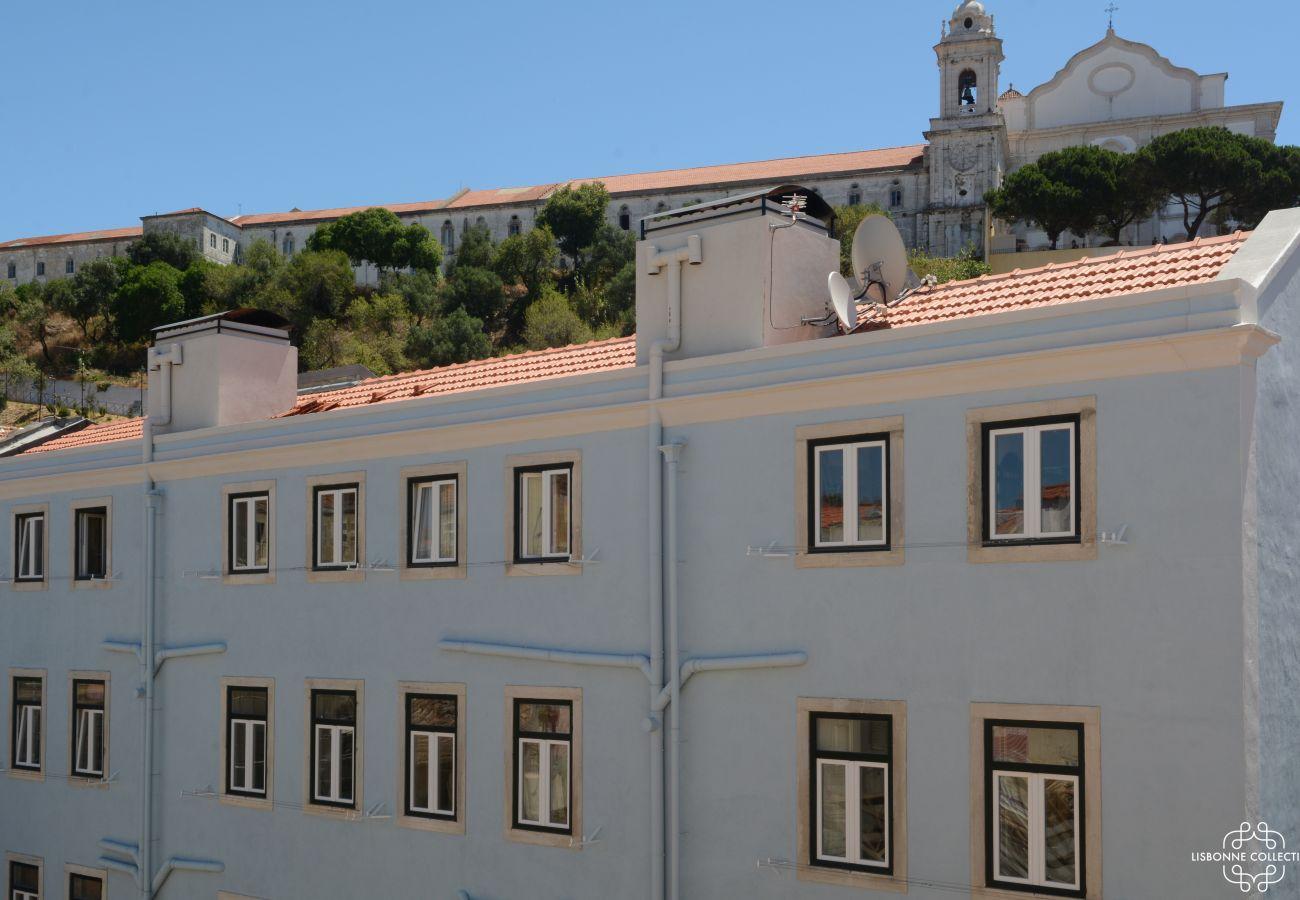 Quartier de Graça au cœur de la ville de la capital portugaise