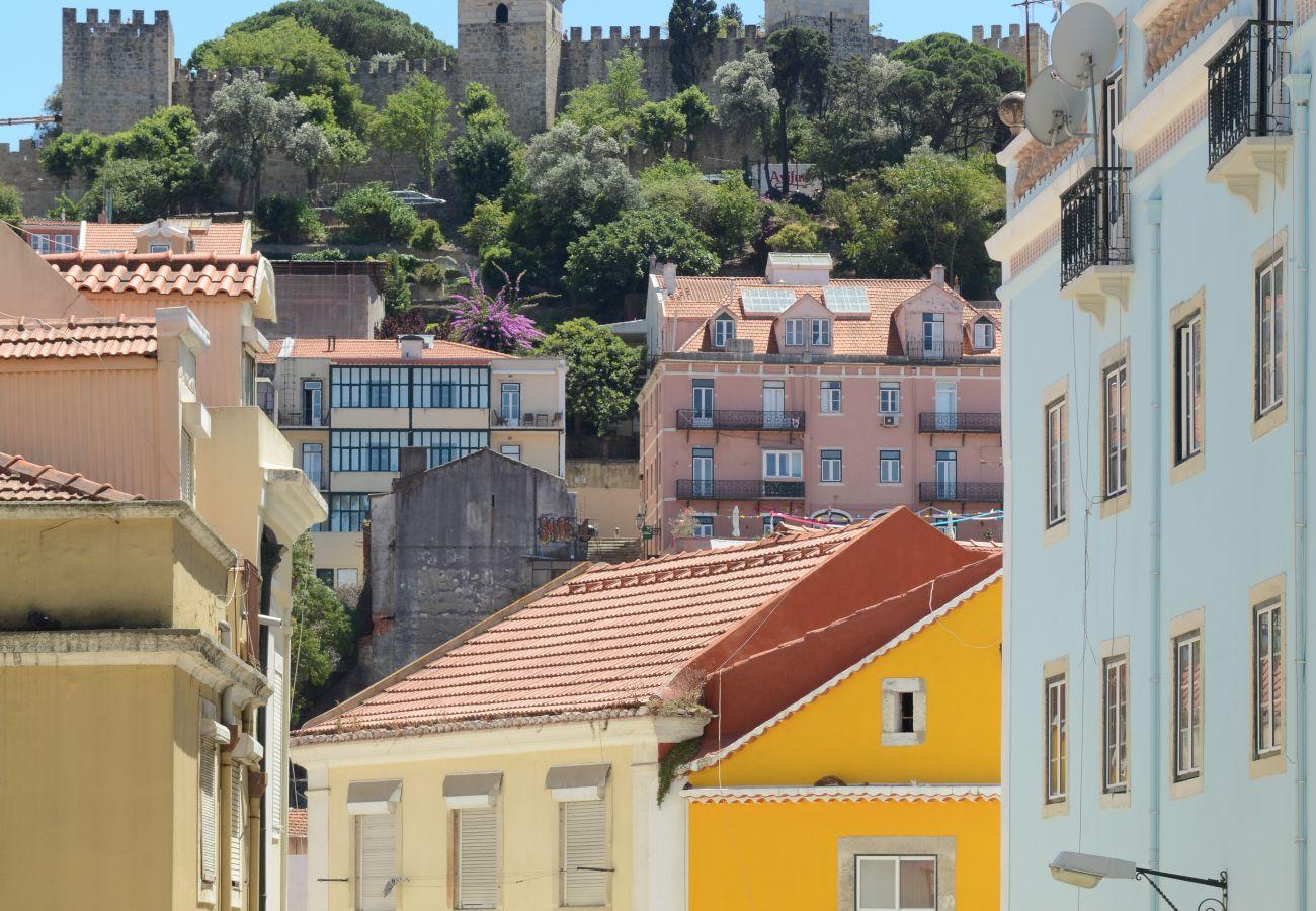 Château de Sao Jorge à Lisbonne