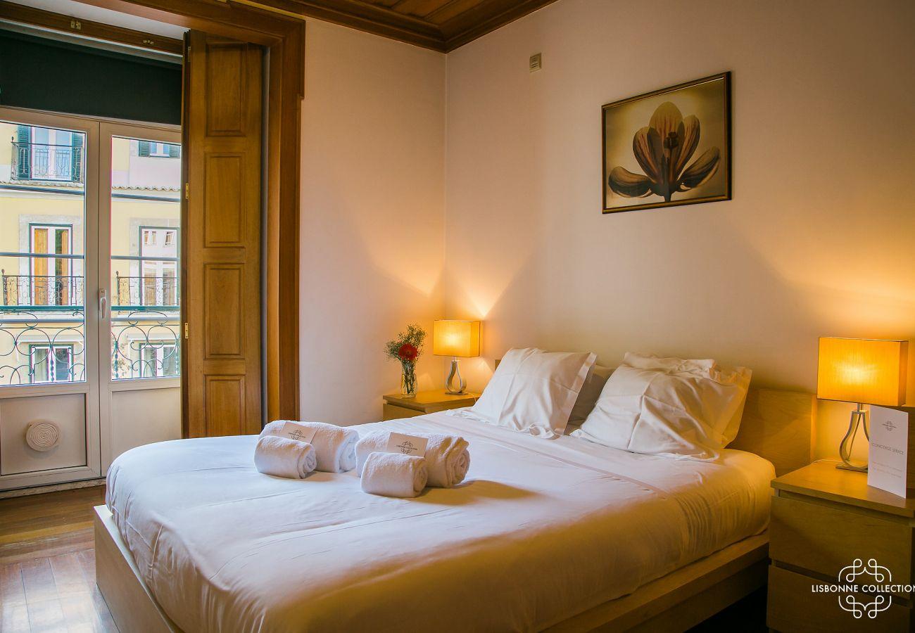 Chambre luxueuse située à proximité du chateau de la capital portugaise