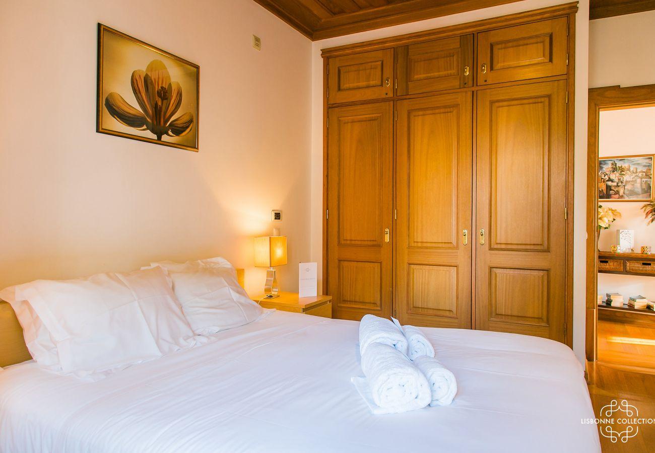 Chambre haut de gamme avec un accès extérieur à louer à Lisbonne