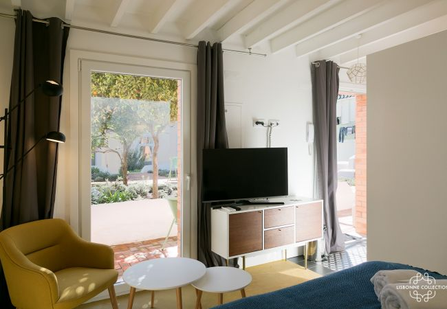Appartement à Lisboa - Pedro Alexandrino Studio Terrace 29 by Lisbonne Collection