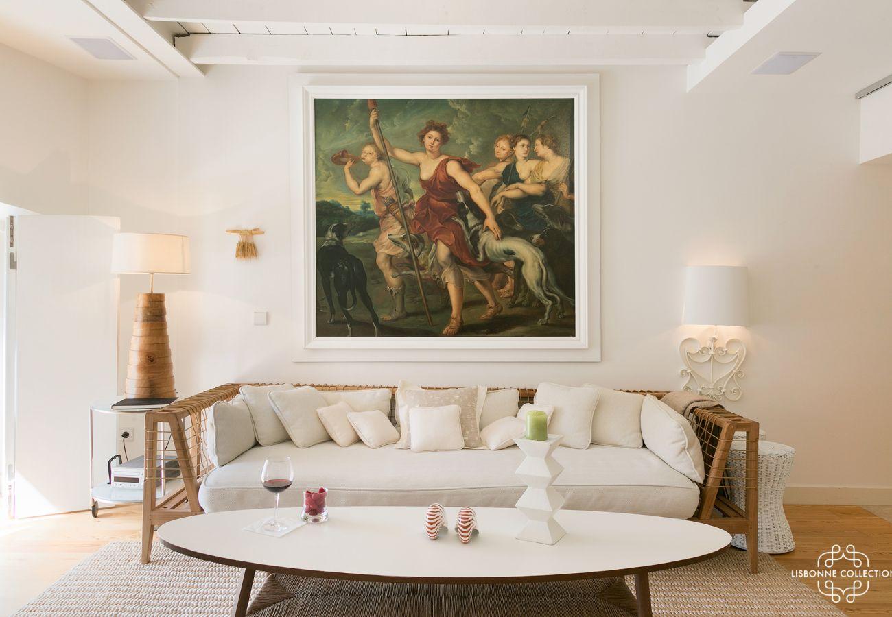 Logement de luxe en location dans le centre ville de Lisbonne