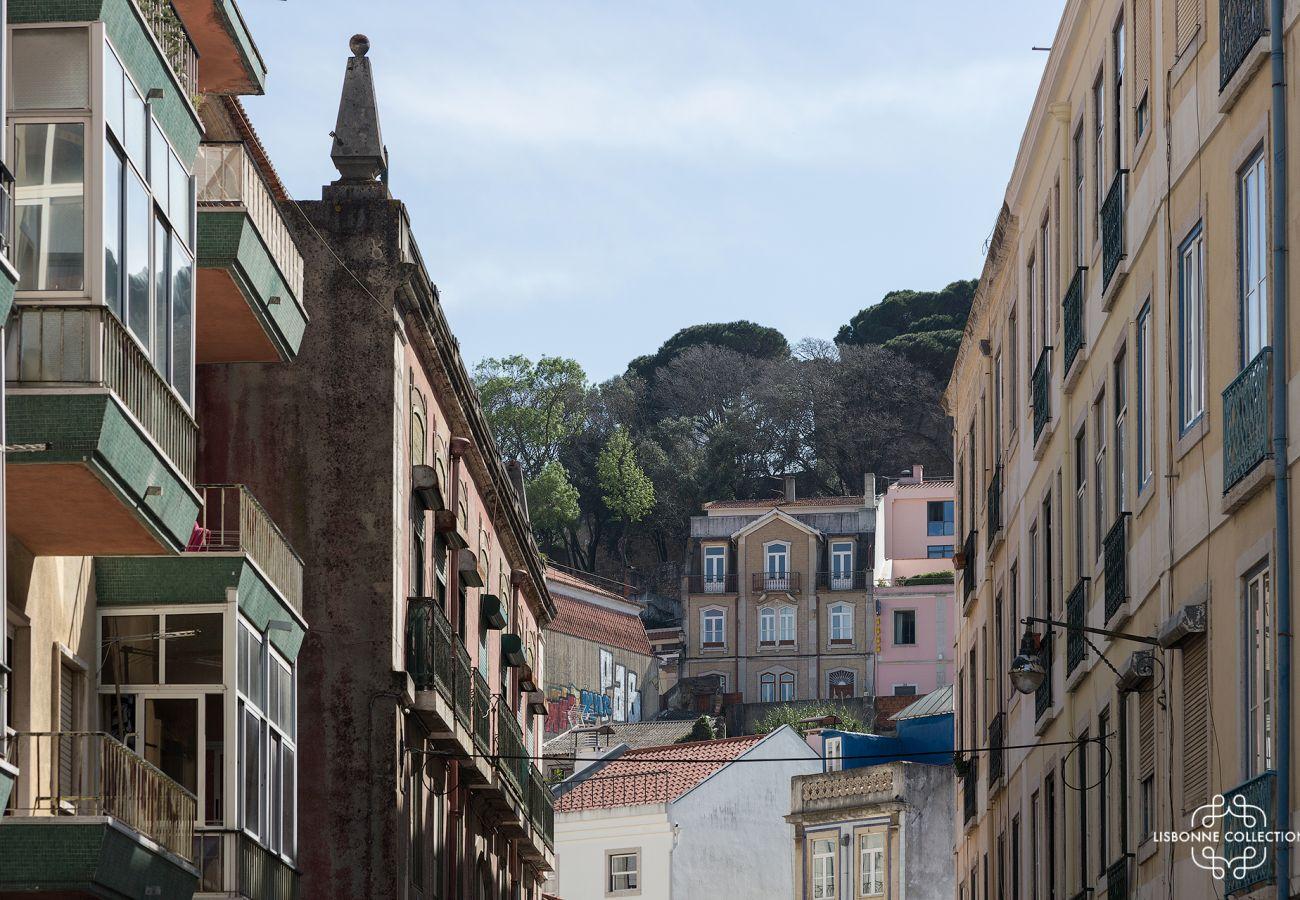 Quartier historique et emblématique de Graça à Lisbonne au Portugal