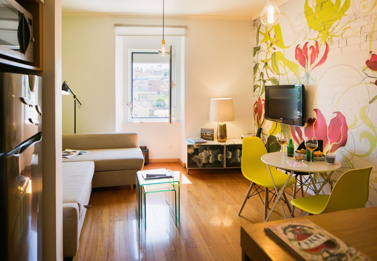 Appartement spacieux et design en location dans le centre ville de Lisbonne