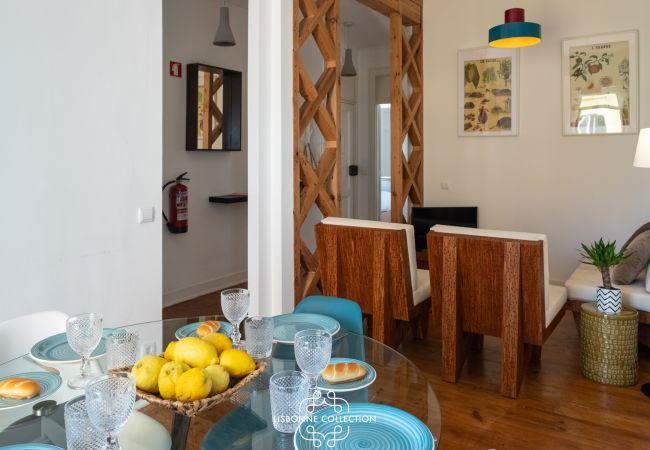 Appartement à Lisboa - Graça River View with Balcony 47 by Lisbonne Collection