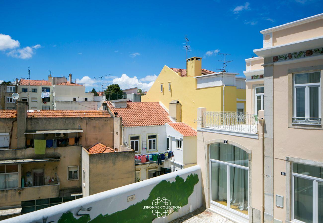 Vue de l'appartement de location disponible dans la capitale portugaise