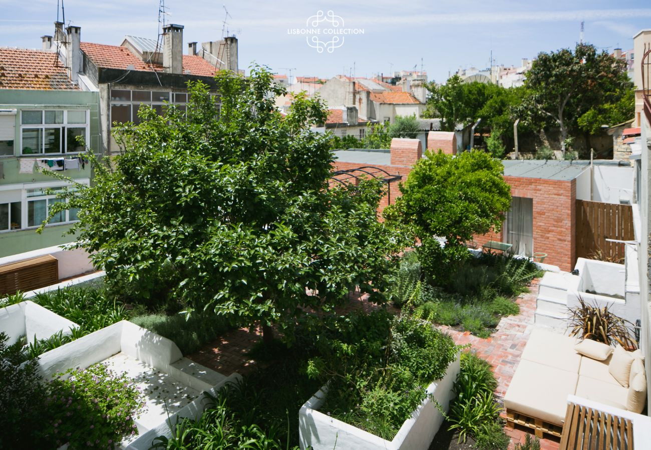 Jardin à la location dans le centre historique de Lisbonne
