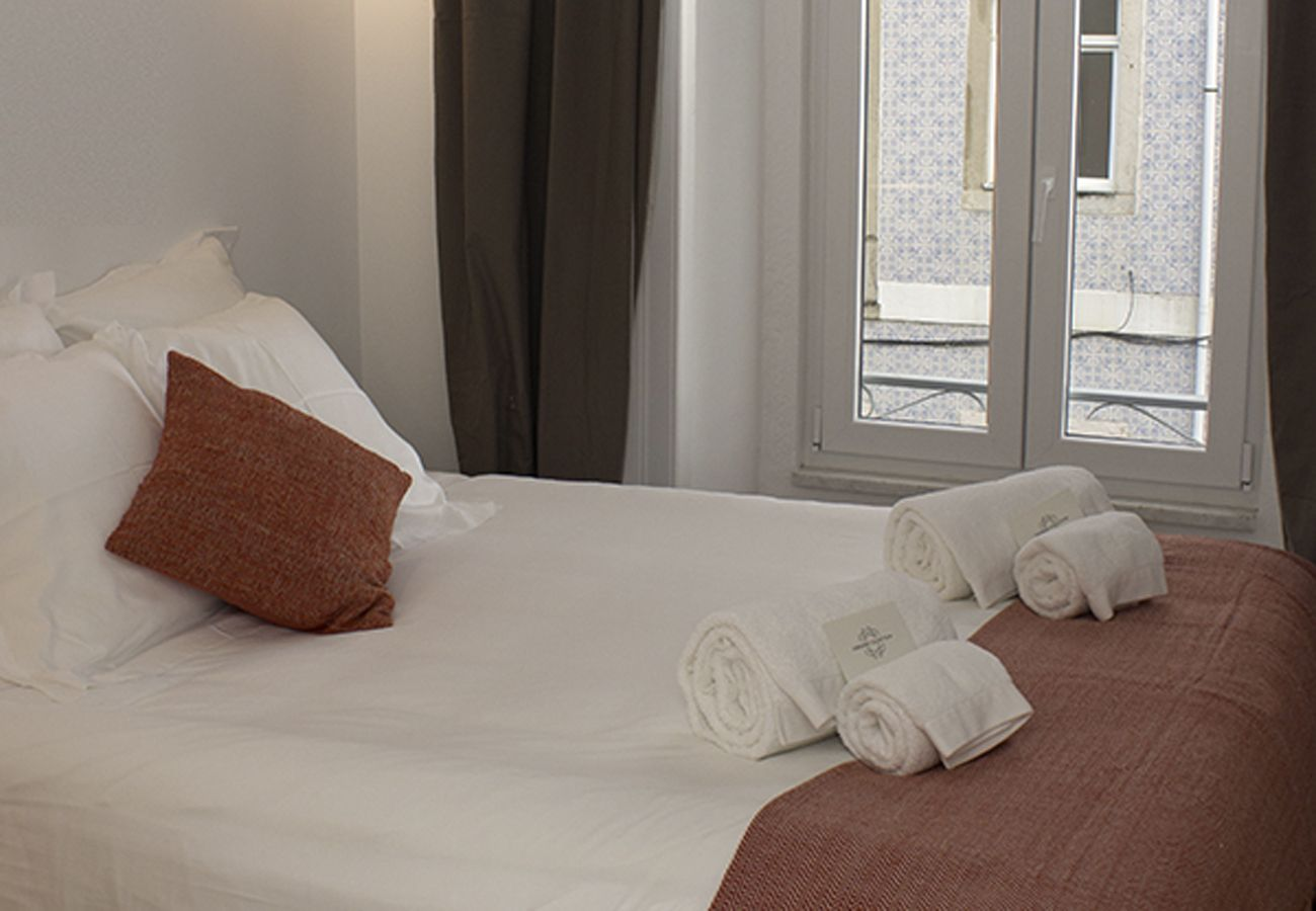 Chambre à coucher pour 2 personnes adultes dans le centre historique