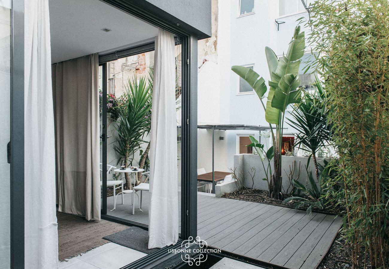 Terrasse haut de gamme disponible à la location dans le centre ville
